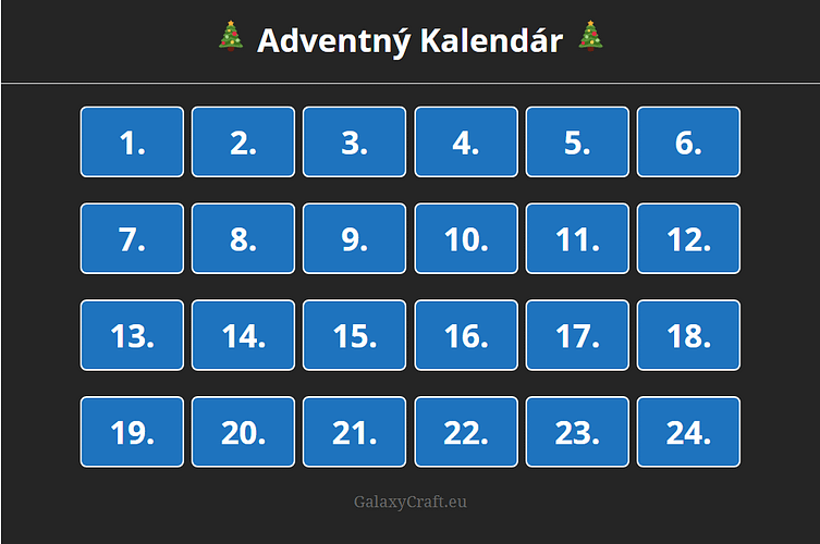 🎁 Advent 🎁 | December 2019