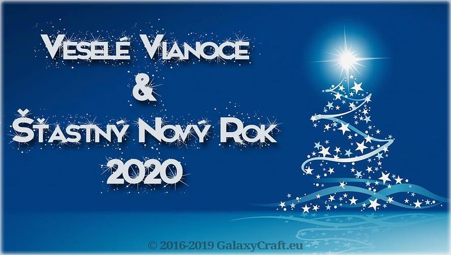 Veselé Vianoce a Šťastný nový rok 2020